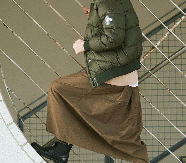メンズライクなアウターには同系色のボトムスとスッキリとしたブーツを【本日のFUDGE GIRL-2月19日】