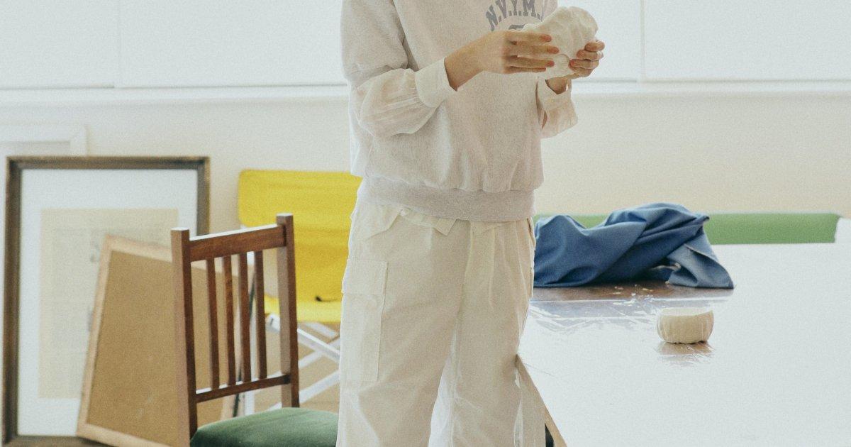 """レース襟ブラウスで作業スタイルに乙女心を忍ばせる【""""ブラウス""""ガールの着まわし7days-THURSDAY】"""