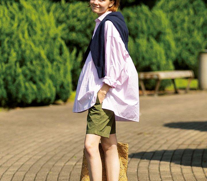 愛らしさが香るショートパンツスタイル【本日のFUDGE GIRL-6月23日】