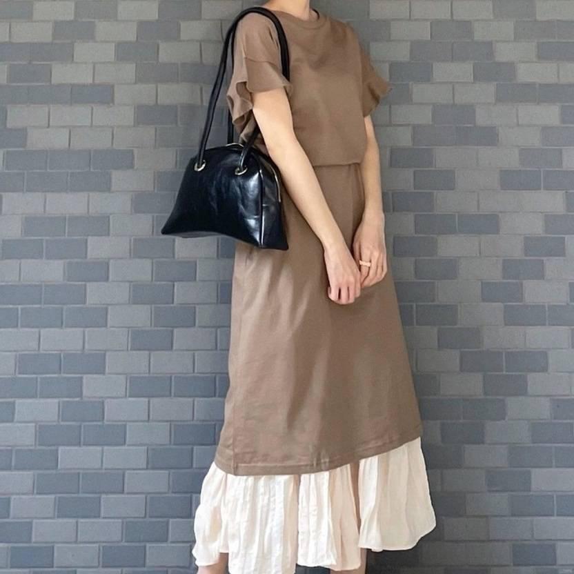 ぽっこりお腹は錯覚でカバー!スカートで作る着痩せコーデ〜初夏編〜