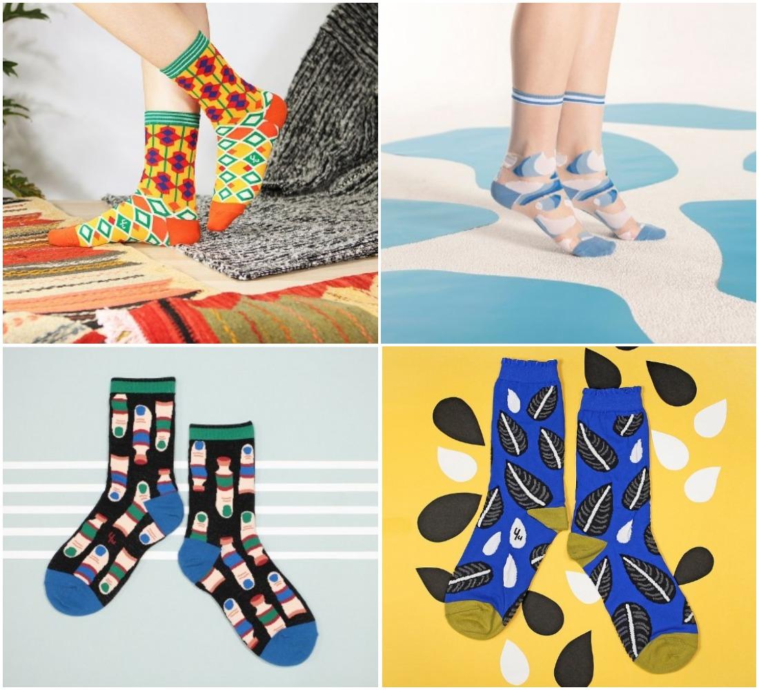 モロッコ柄やシースルーなど個性派ソックスがズラリ★ 台湾ブランド「ユースクエア」が男女共に楽しめるデザインです